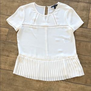 Banana Republic cream blouse NWOT